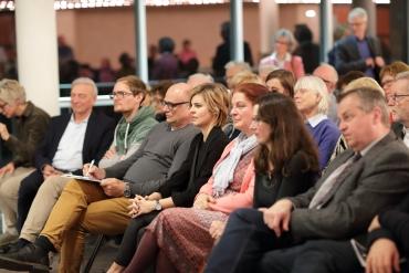 Mittig v.l.n.r. Hans-Ulrich Becker, Milena Wichert, Christiane Ehret-Jeltsch